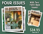 Four Issue Subscription Plus Two Free Back Issues