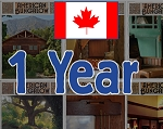 One Year Canadian Subscription - New