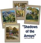 Shadows of the Arroyo by Tim Solliday