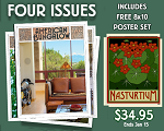 Four Issue Subscription Plus Free Poster Set